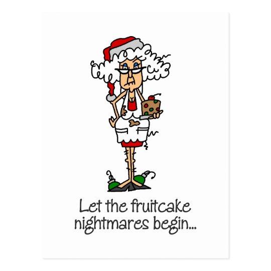 Funny Christmas Gift Postcard
