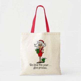 Funny Christmas Gift Tote Bag