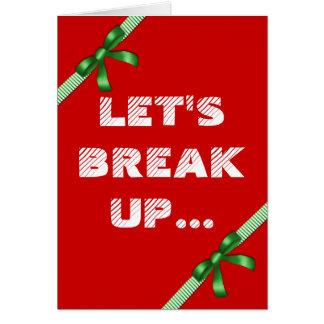 Funny Christmas Gingerbread Cookie Joke Greeting Card