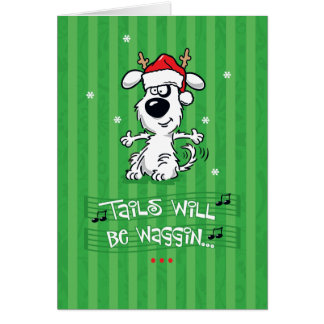 Funny Christmas Greeting cb107 Greeting Card