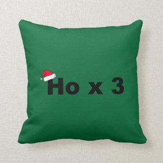 Funny Christmas Greeting Pillow