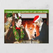 Funny Christmas Holiday Postcard