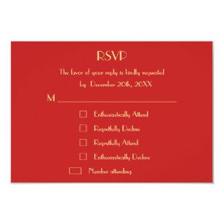 Funny Christmas Holiday Wedding RSVP Invite Custom