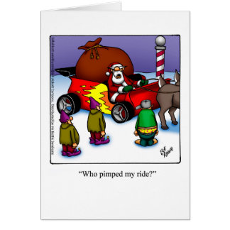"Funny Christmas Humor Greeting Card ""Spectickles"""