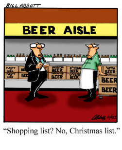 Christmas Humor Shopping Postcards | Zazzle