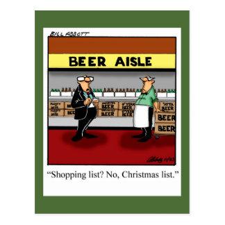 Funny Christmas Humor Postcard