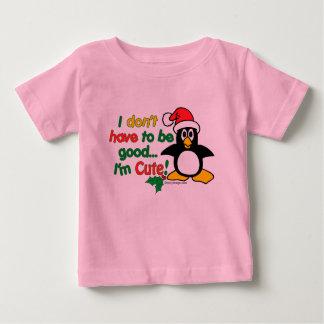Funny Christmas I'm cute! Baby T-Shirt