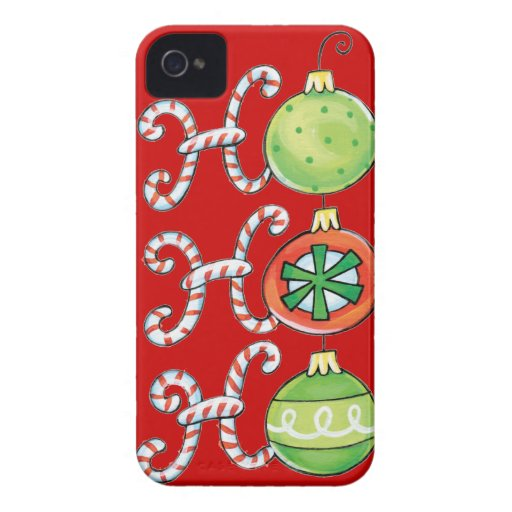 Funny Christmas iPhone 4 Covers