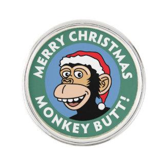 Funny Christmas Monkey Greeting
