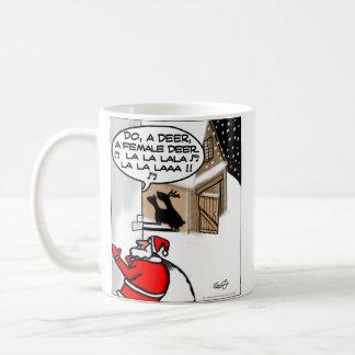 Funny Christmas Mug - Do A Deer