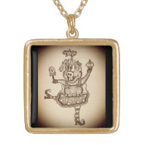 Funny Christmas Necklace