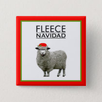 funny Christmas novelty Button