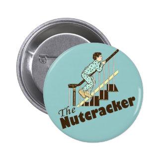 Funny Christmas Nutcracker 2 Inch Round Button
