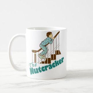 Funny Christmas Nutcracker Classic White Coffee Mug