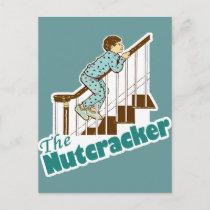 Funny Christmas Nutcracker Holiday Postcard
