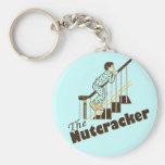 Funny Christmas Nutcracker Keychains