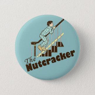 Funny Christmas Nutcracker Pinback Button