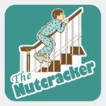 Funny Christmas Nutcracker Stickers