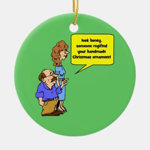 funny Christmas ornament