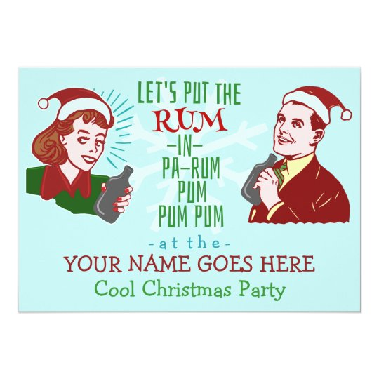 Funny Christmas Party Invitations Announcements – Funny Christmas Party Invitations