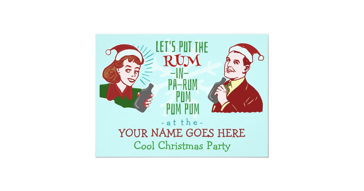 Funny Christmas Party Invitations – gangcraft.net
