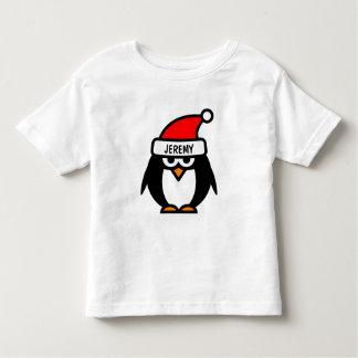 Funny Christmas penguin cartoon | Kids t shirts