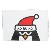 Funny Christmas penguin pillowcase gift idea