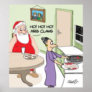 Funny Christmas poster