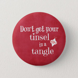 Funny Christmas Quote Button