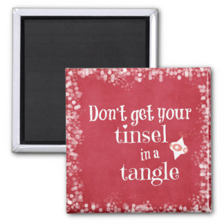 Funny Christmas Quote Magnets