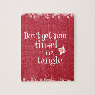 Funny Christmas Quote Jigsaw Puzzles