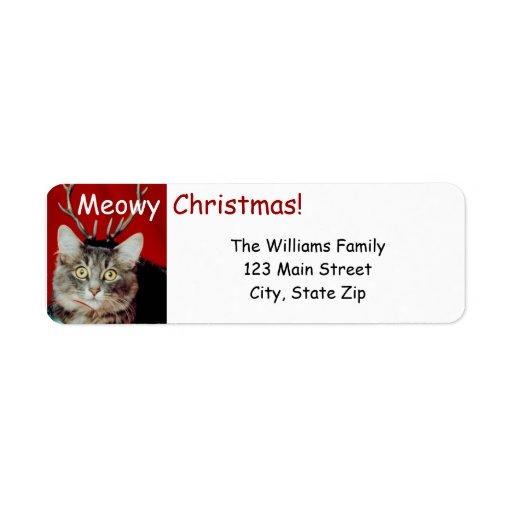 Funny Christmas Return Address Labels
