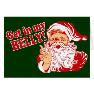 Funny Christmas Santa Greeting Cards