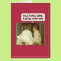 Funny Christmas Smell Card