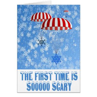 Funny Christmas snowflakes Card