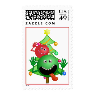 Funny Christmas Stamp