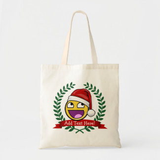Funny Christmas Style Awesome Face Meme Tote Bag