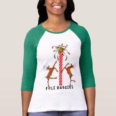 Funny Christmas T-shirt at Zazzle