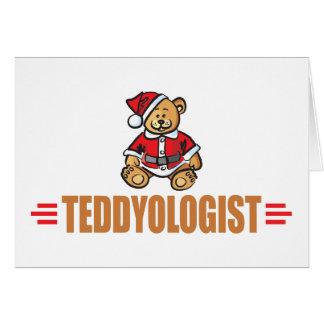 Funny Christmas Teddy Bear Card