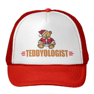 Funny Christmas Teddy Bear Trucker Hat