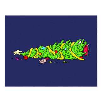 Funny Christmas Tree Humor Card
