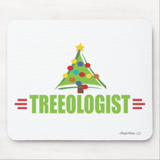 Funny Christmas Tree Lover Mouse Pad