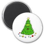 Funny Christmas Tree Refrigerator Magnets