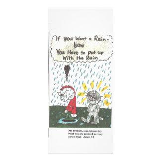Funny church saying book mark rack card