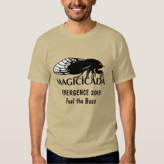 Funny Cicada Magicicada Emergence Feel the Buzz T-shirts