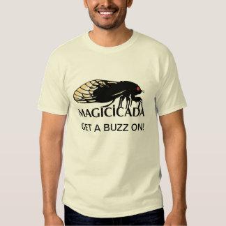 Funny Cicadas - Get a Buzz on!  Magicicadas T-shirts