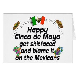 Funny Cinco de Mayo Card