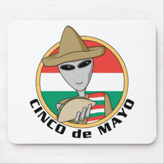 Funny Cinco de Mayo Mouse Pad