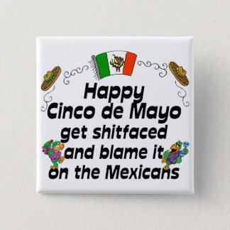 Funny Cinco de Mayo Pinback Button