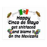 Funny Cinco de Mayo Postcards